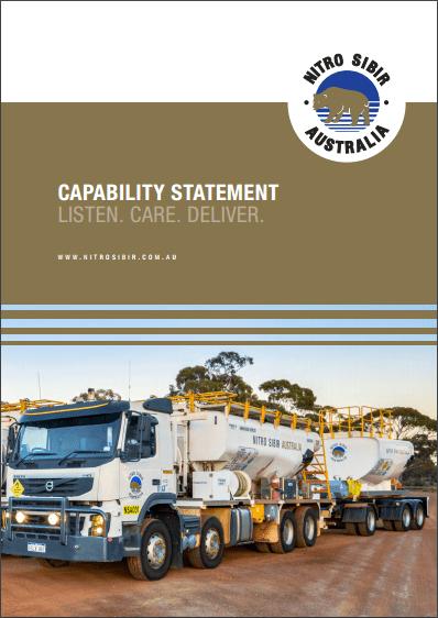 Nitro Sibir Australia Capability Statement