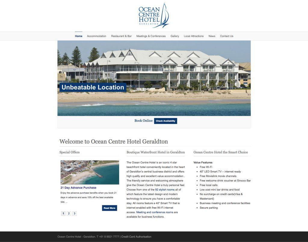 Ocean Centre Hotel Geraldton